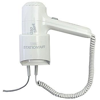 德国伟嘉挂墙式吹风机 5012STA / 5012STA2(1250W、后背式按钮、无电线/带电线可选、两档)