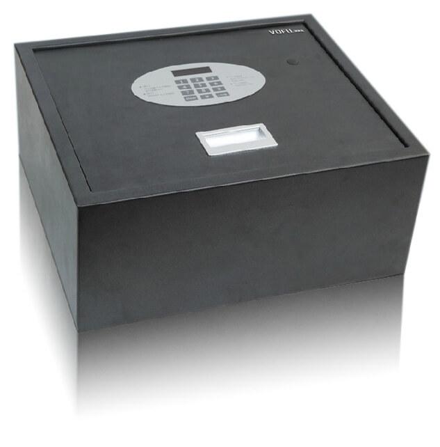 沃尔夫侧开门客房保险箱VSafe-T1【上翻式、电子开门、液晶显示、410W*180H*350D】
